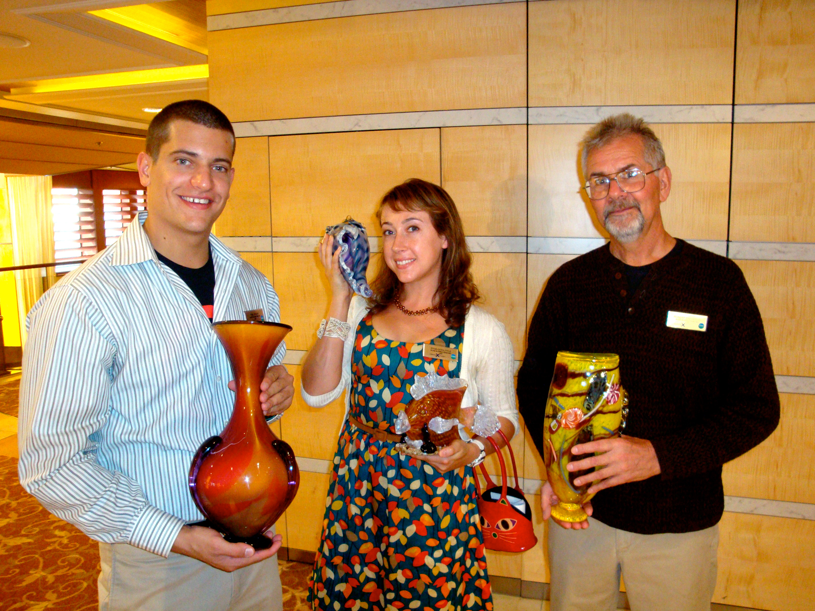 Auction to benefit the Celebrity Cruises Glassmaking Scholarship fund