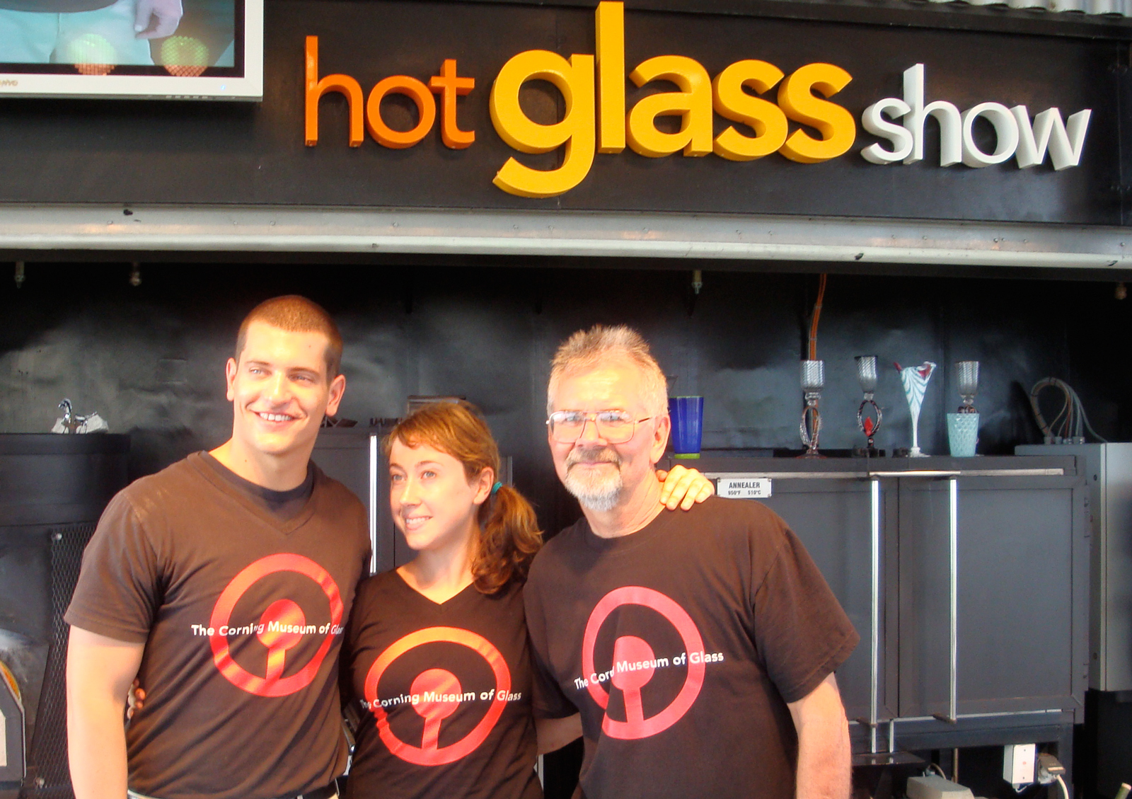 Hot Glass Show at Sea