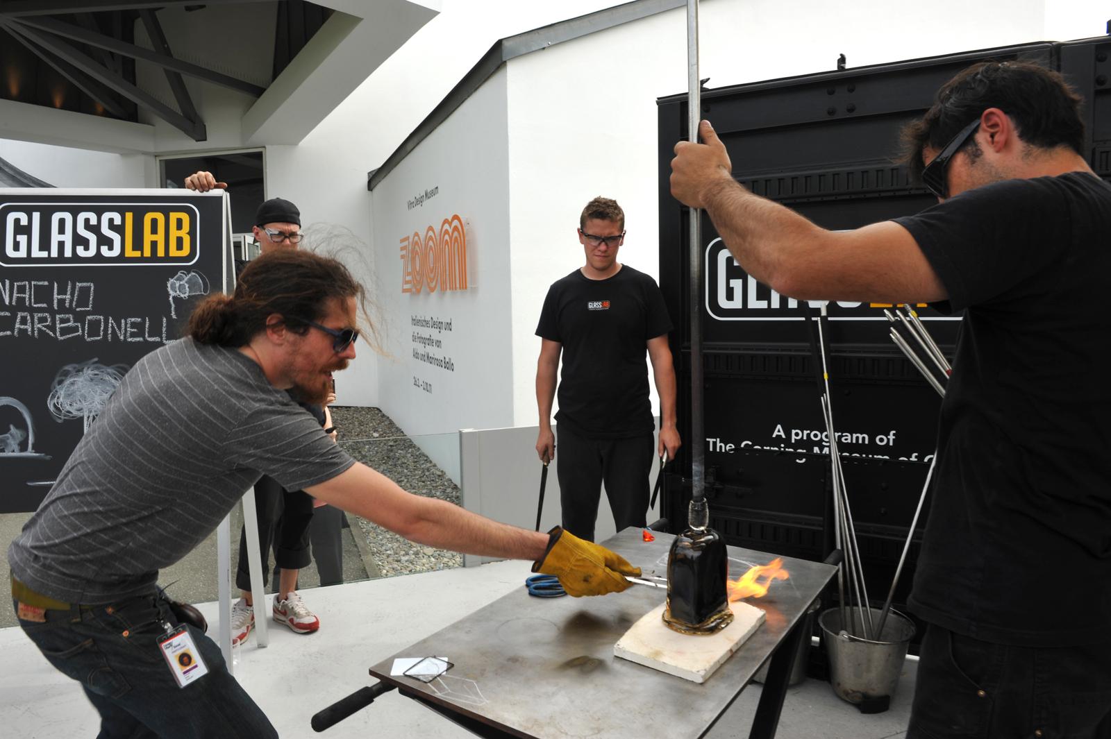 Designer Nacho Carbonell at GlassLab design session
