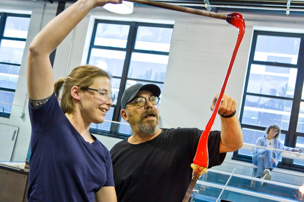 Gayla Lee and Davide Salvadore Creating and Using Murrine at The Studio of The Corning Museum of Glass