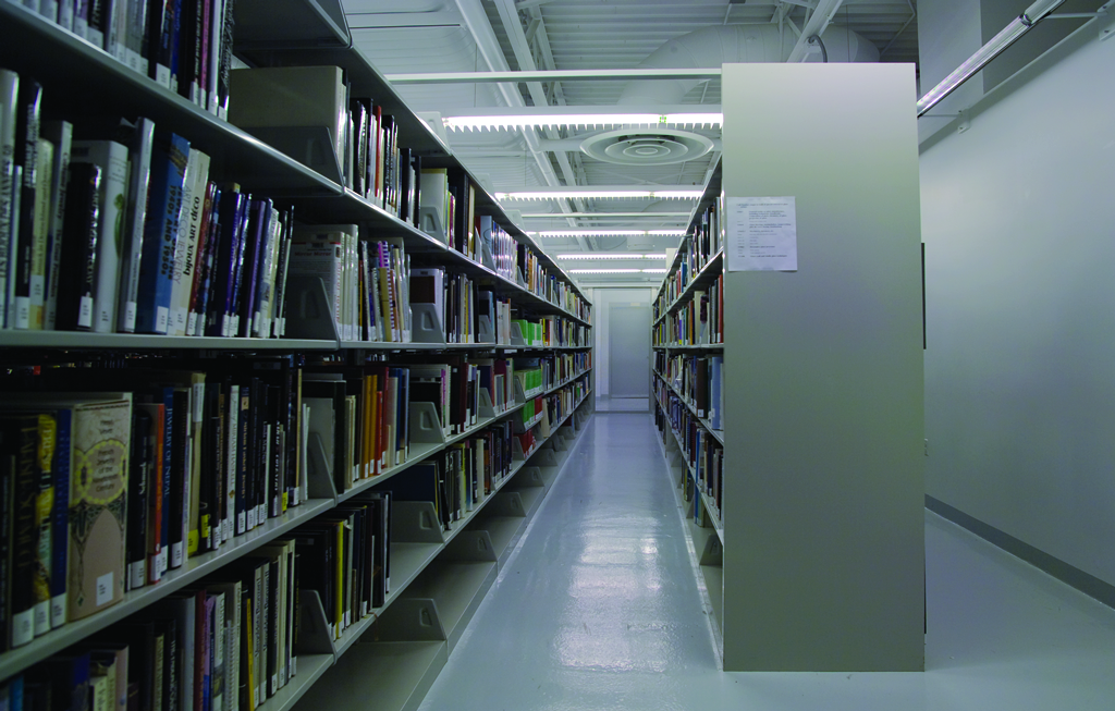 The Juliette K. and Leonard S. Rakow Research Library Open Stacks