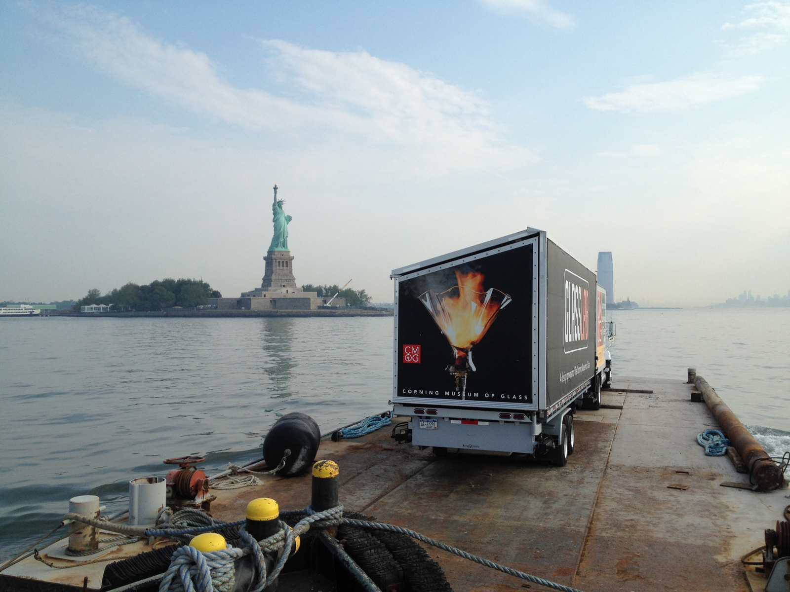 The GlassLab mobile hot shop making its way to Governors Island off Manhattan