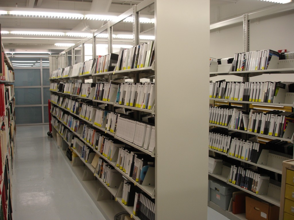 Video section in the Rakow Library