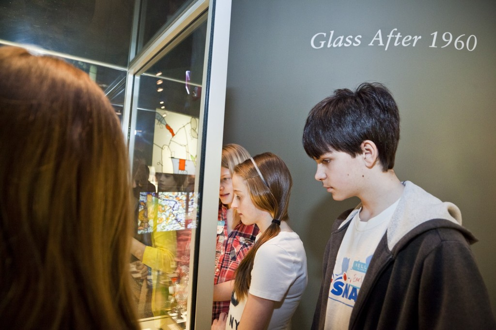 Students visit The Corning Museum of Glass