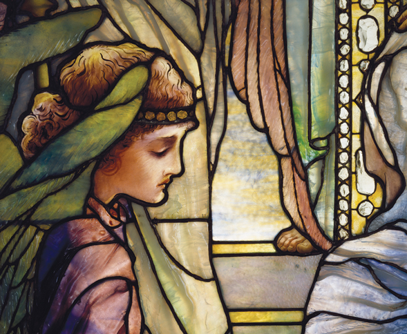 Louis Comfort Tiffany, The Righteous Shall Receive A Crown of Glory