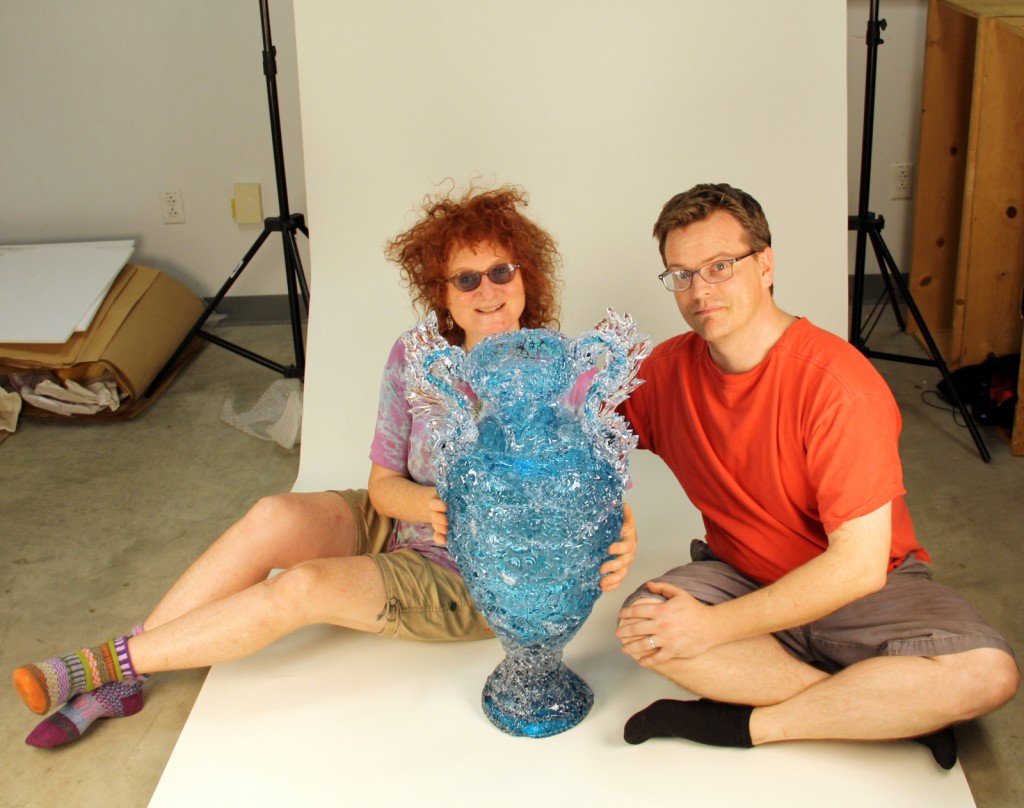Laura Donefer and Jeff Mack at The Studio in Corning
