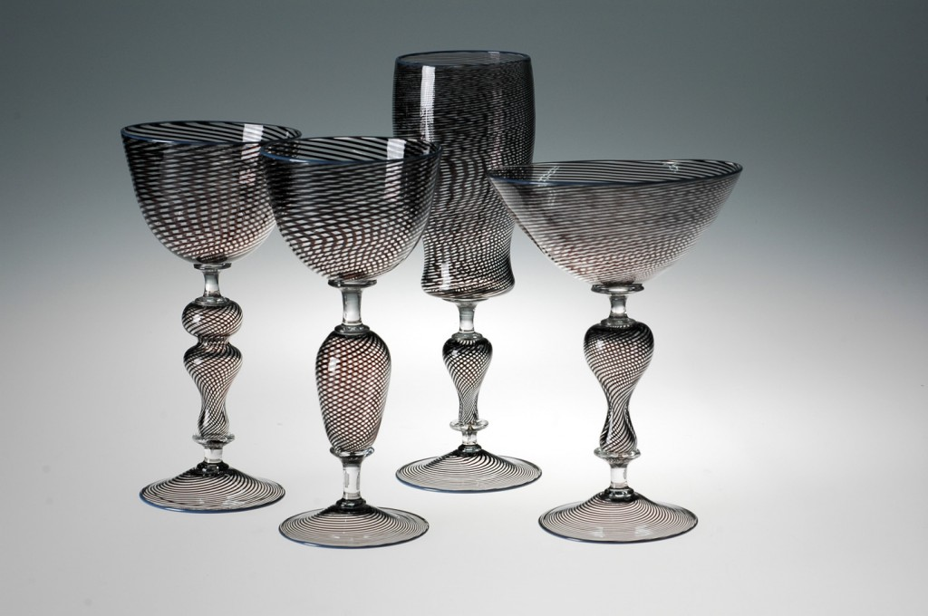 Filigrana Goblets by Ethan Bond-Watts