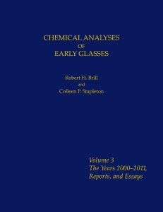 Chemical Analysis of Early Glasses Volume 3