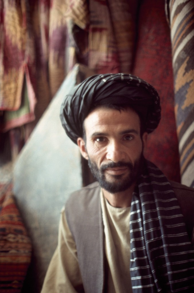 "Nasrullah, nephew of the glassmaker featured in the 1977 film ""Glassmakers of Herat"""