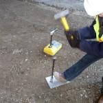 Testing soil compaction