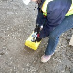 Testing soil compaction