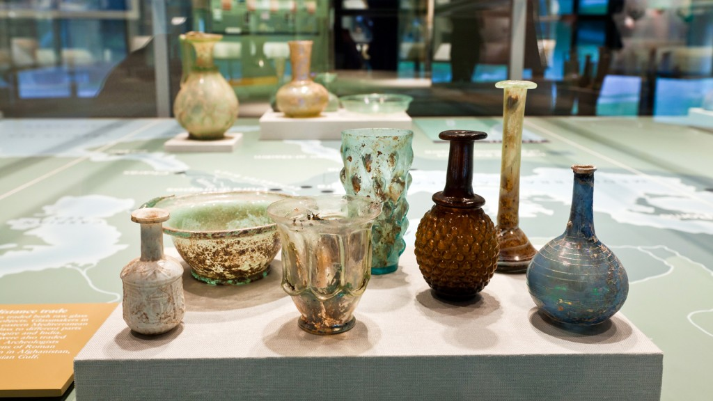 Ancient glass in the collection of The Corning Museum of Glass