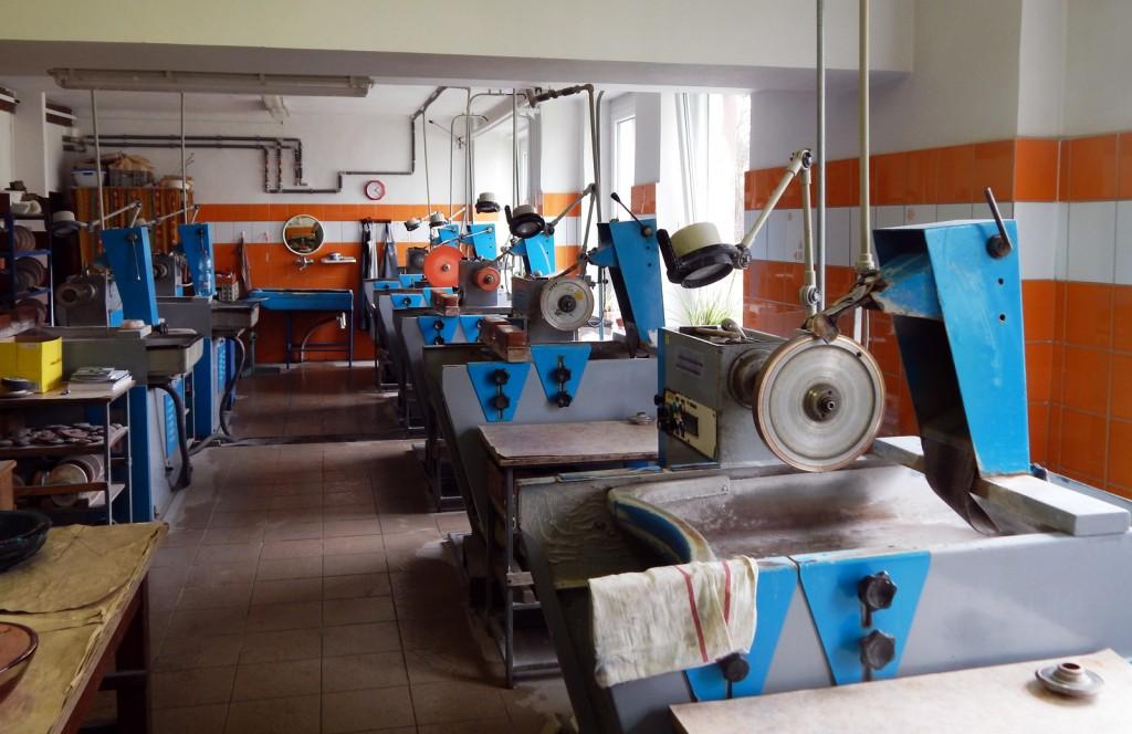 The cutting studio