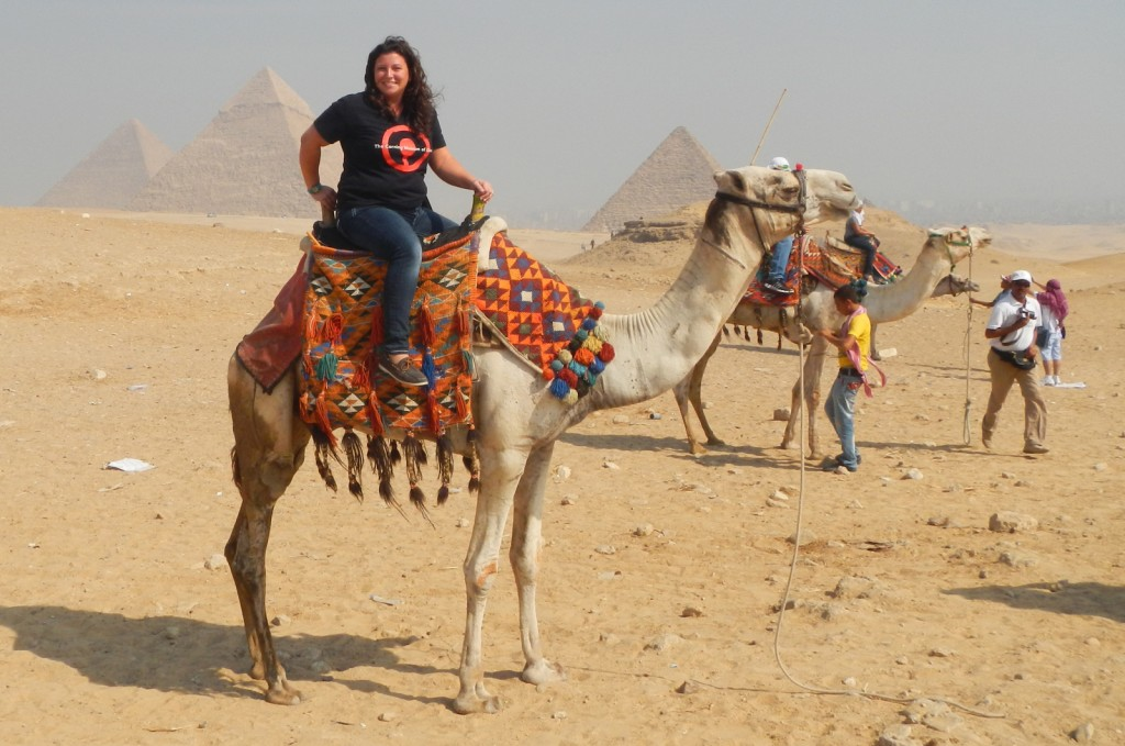 Catherine in Egypt