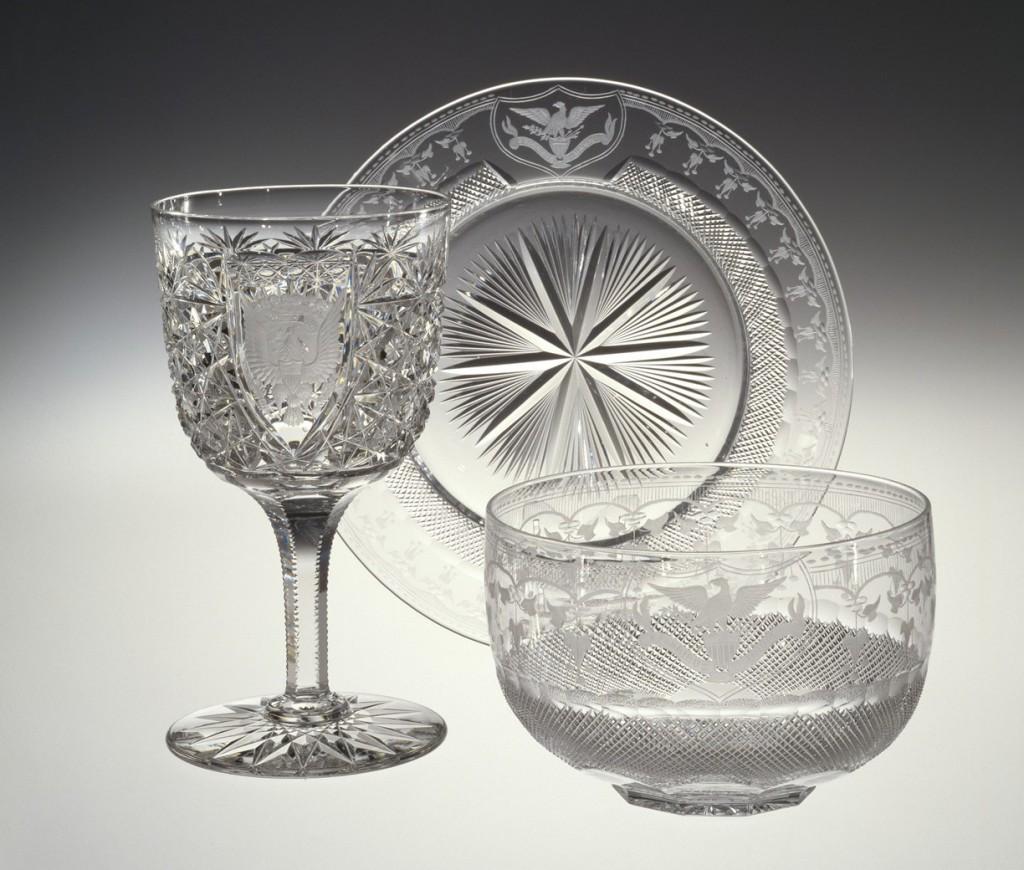 Ice Cream Plate, C. Dorflinger & Sons, 1902.