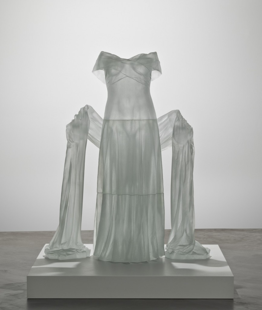 Evening Dress with Shawl, Karen LaMonte (American, b. 1967). Czech Republic, Zelezny Brod, 2004. H: 150 cm, W: 121 cm, D: 59.5 cm. (2005.3.21)