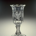 Celery Vase, ca. 1829-50 Bakewell, Page & Bakewell (United States, Pittsburgh, Pennsylvania) Blown, cut, and engraved glass 79.4.6