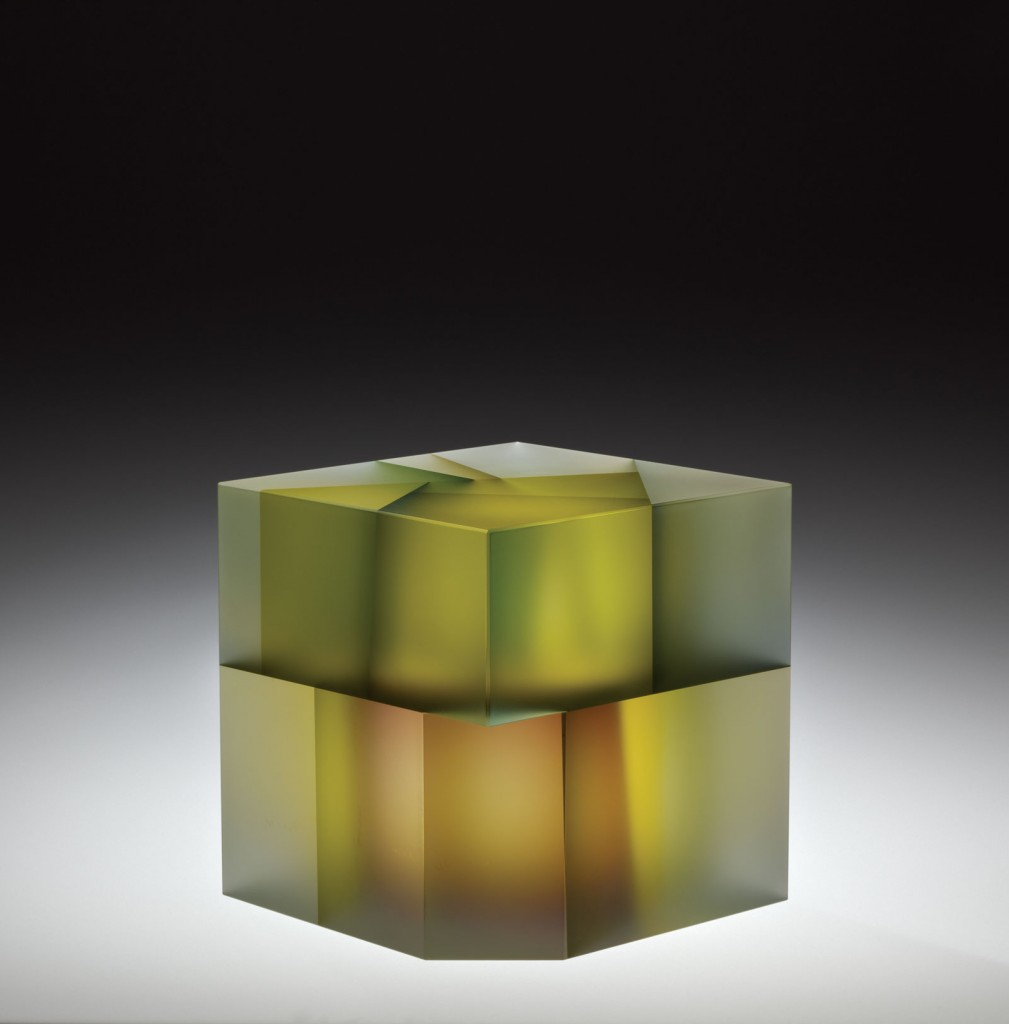 Cell Cube with Purple Manipulation, Jiyong Lee, Carbondale, IL, 2012. 2012.4.4.