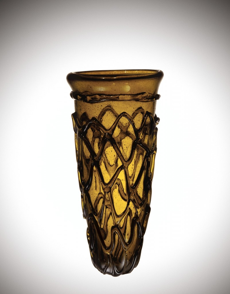 Cone beaker, England, probably Kent, 7th century A.D. (85.1.4).