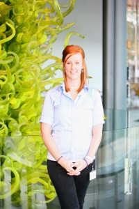 Katie Fielder, Guest Services Associate
