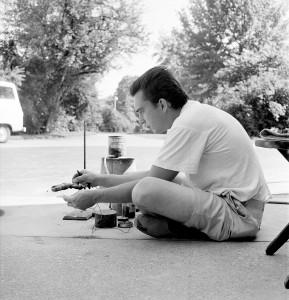 Clayton Bailey Studio Glass Workshop, Toledo Museum of Art Photographed by Robert C. Florian, June 1962 Gift of Robert C. Florian