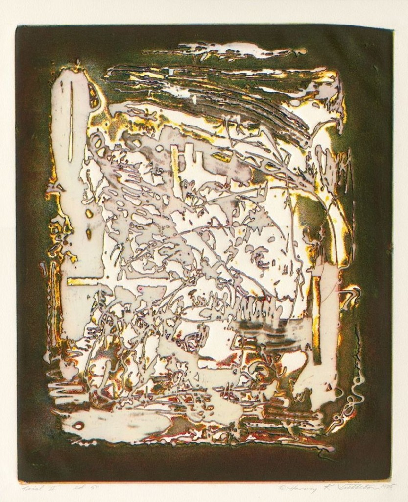 Harvey Littleton, Trial II, 1975, vitreograph (collection of The Corning Museum of Glass, Rakow Library, 131756).