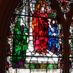 Stained glass window in Park Church, Elmira, NY