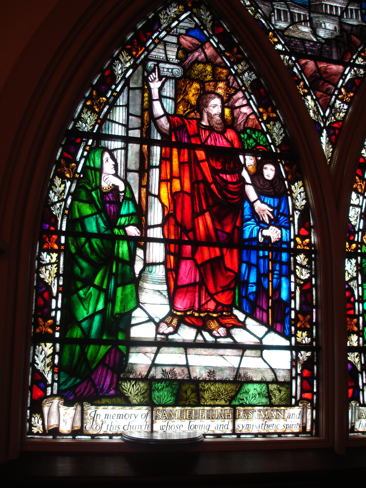 Original drawings from london matched with local church s for Glass windows