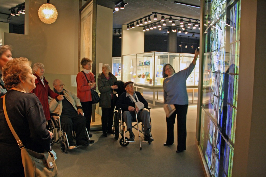 Meet Me at the Museum tour at The Corning Museum of Glass