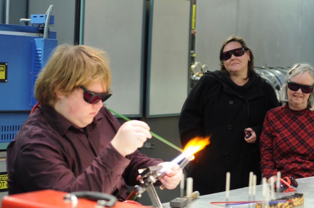 Demonstrating flameworking