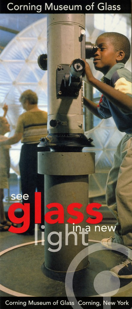 George on the cover of CMoG's brochure in 1999