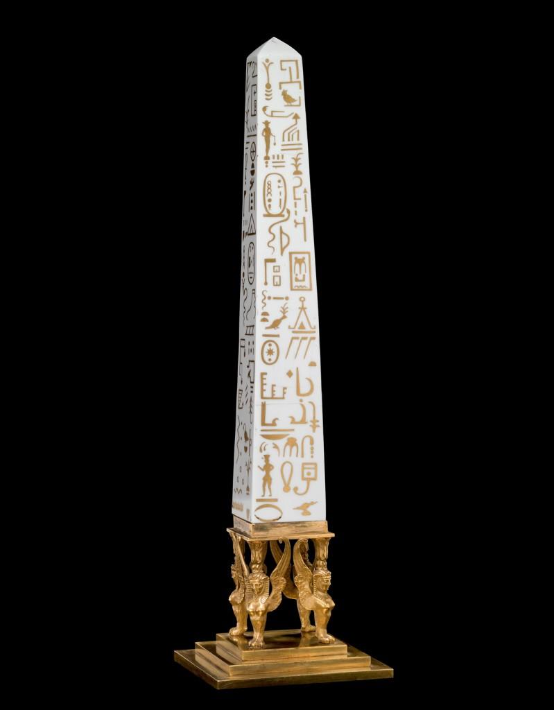 Obelisk, Werner and Mieth Workshop, Berlin, 1800-1810. 2013.3.13