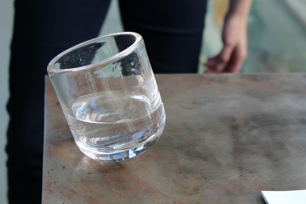 Whiskey glass design by Bridget Sheehan