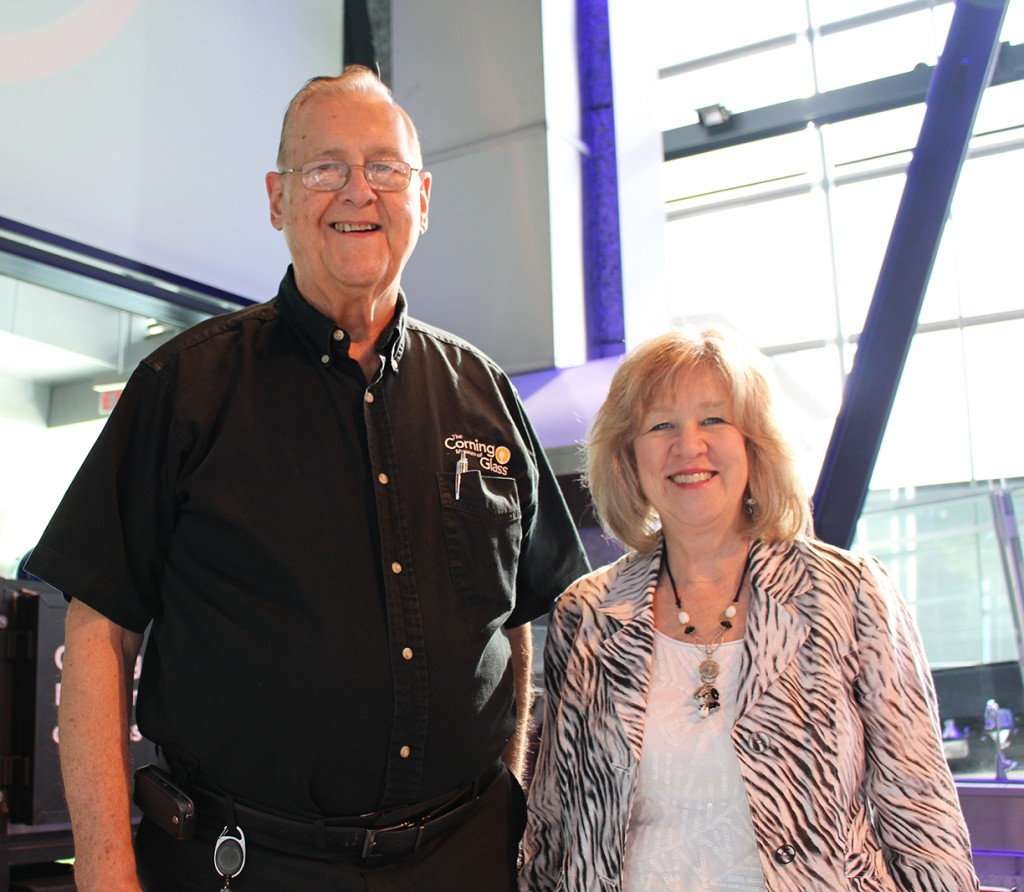 John Ford with Director of Human Resources, Ellen Corradini.