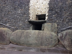 Filming also took place at Newgrange, a  megalithic passage tomb dating to 3,200 BC.