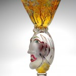 Queenie in the Forest by Carlson Glassworks