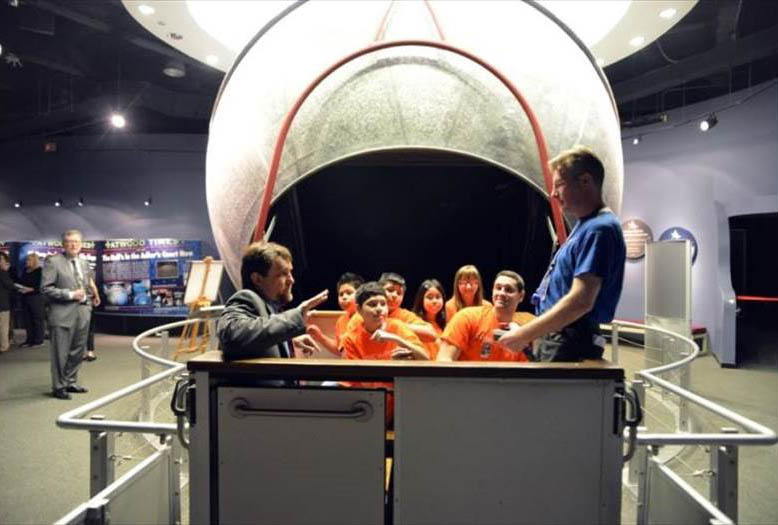 Dr. Bolt's first project at the Adler Planetarium.