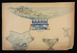 Auguste Herbst design excluded from exhibit for conservation reasons. CMGL 133427