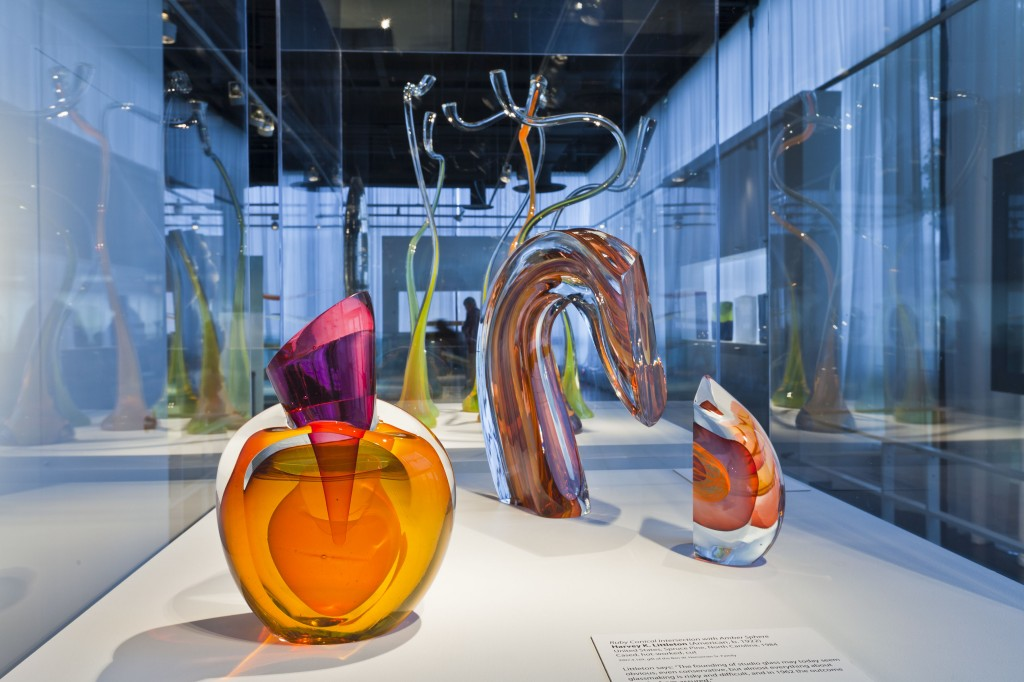 The Heineman gift, valued at $9.5 million, was one of the largest ever for the museum and ensured the Museum's place as the world's most comprehensive repository for the preservation and documentation of studio glass.