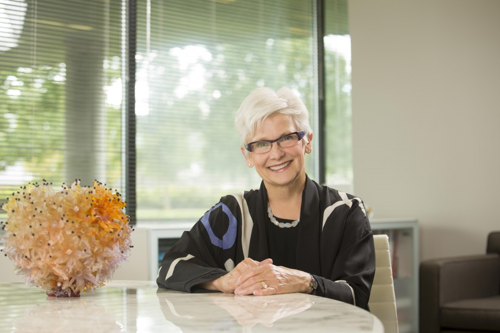 Marie McKee was president of the museum for 16 years. Photo by Matt Wittmeyer