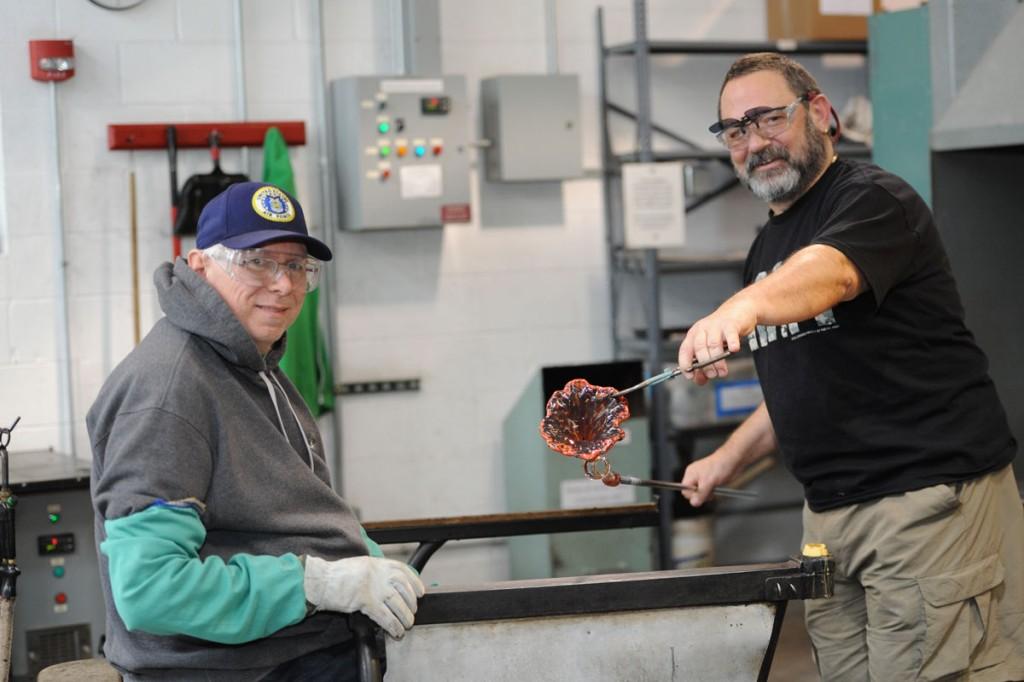 Veteran's Glassblowing Day