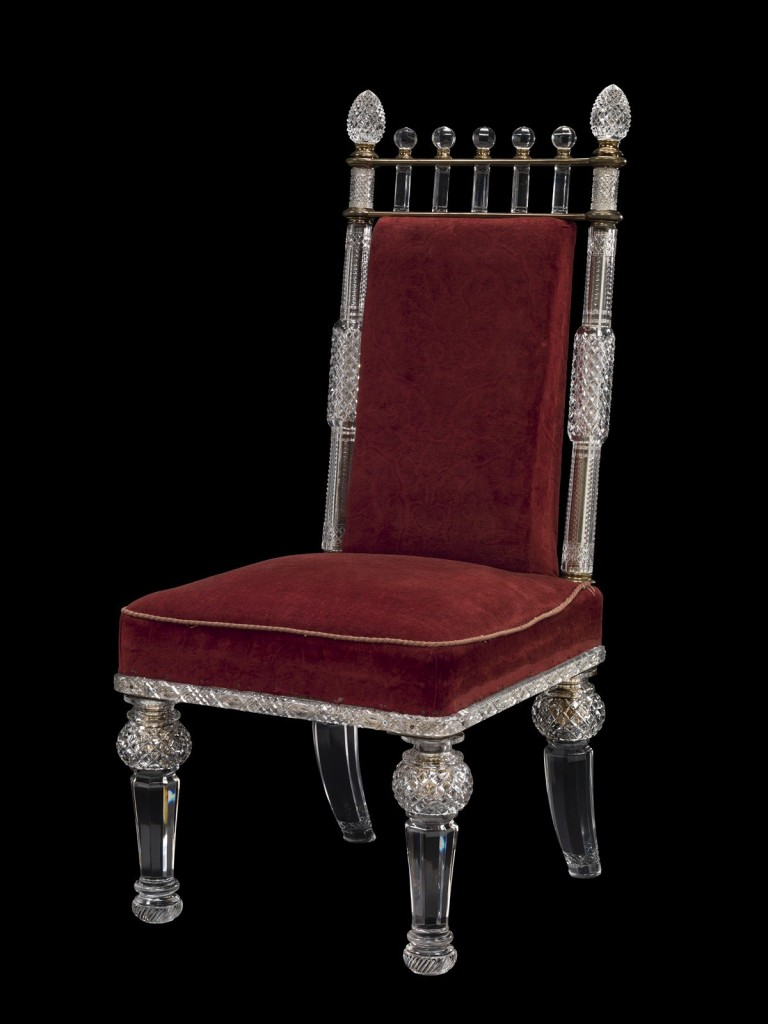 Side Chair, F. & C. Osler, Birmingham, England, about 1860-1900. 2014.2.5.