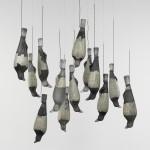 Previous installation of 13 Crows, Michael Rogers, Seto, Aichi-ken, Chubu, Japan, 2002. 2004.6.3.