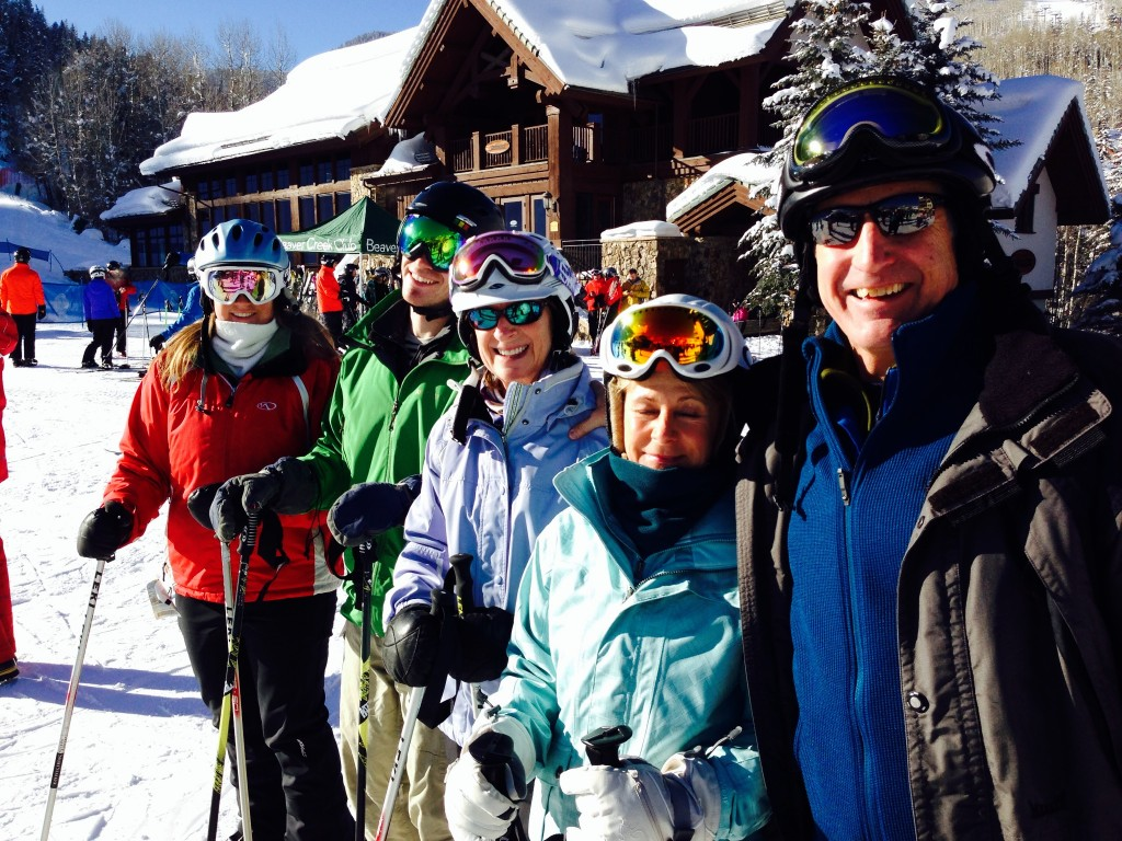 Alan Eusden, pictured here in Colorado with friends and family.
