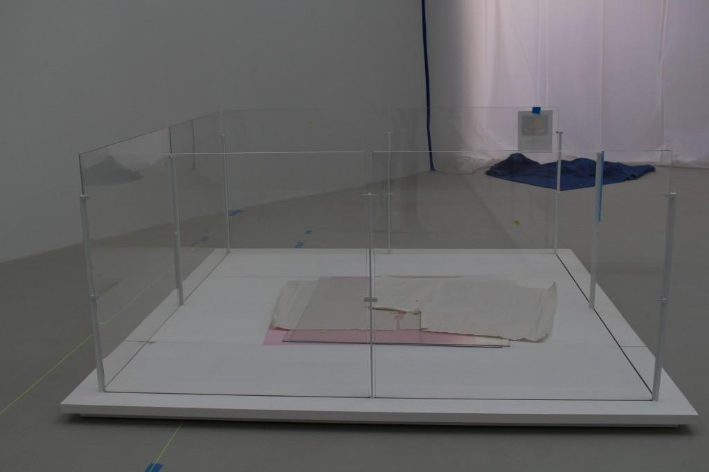 Gorilla Glass enclosure for artwork.