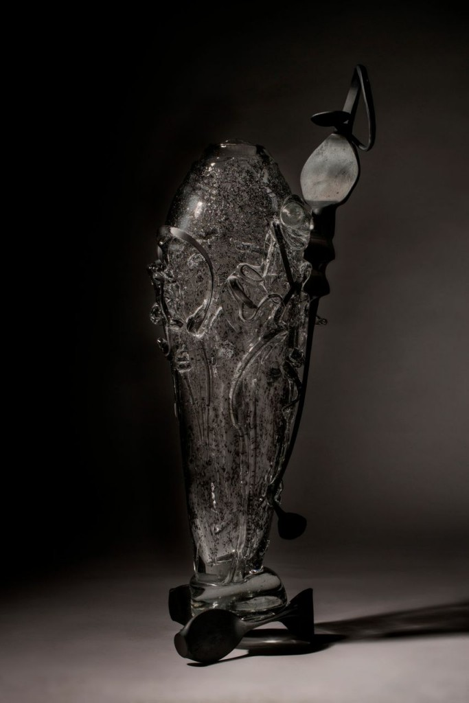 A piece created by Albert Paley during the residency.