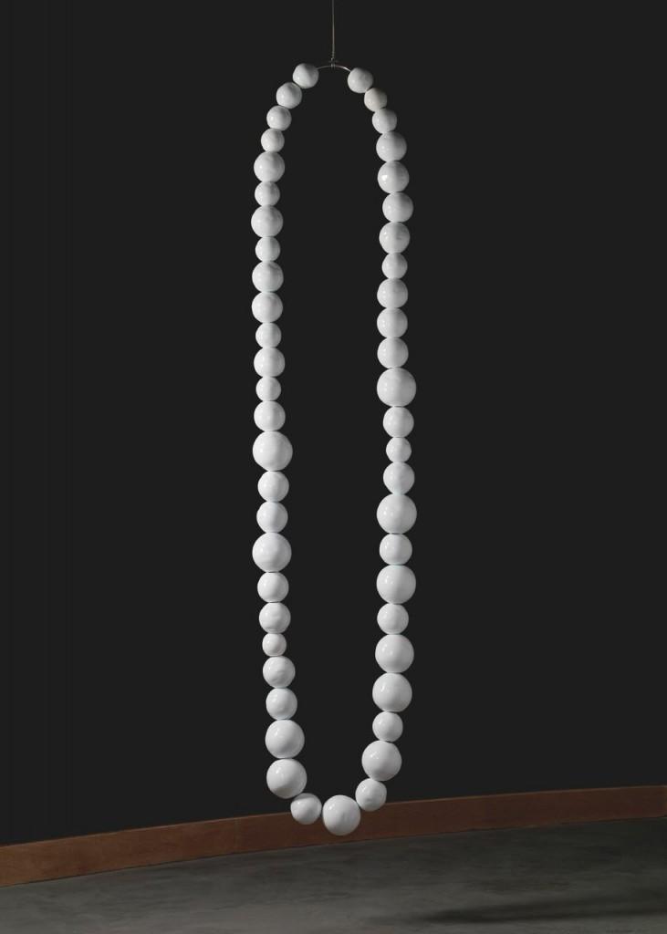 The White Necklace, Jean-Michel Othoniel, Murano, Italy, 2007. 2010.3.133.
