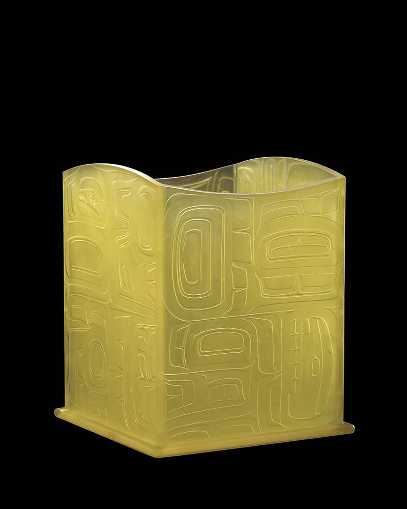 Never Twice the Same (Tlingit Storage Box) by Preston Singletary