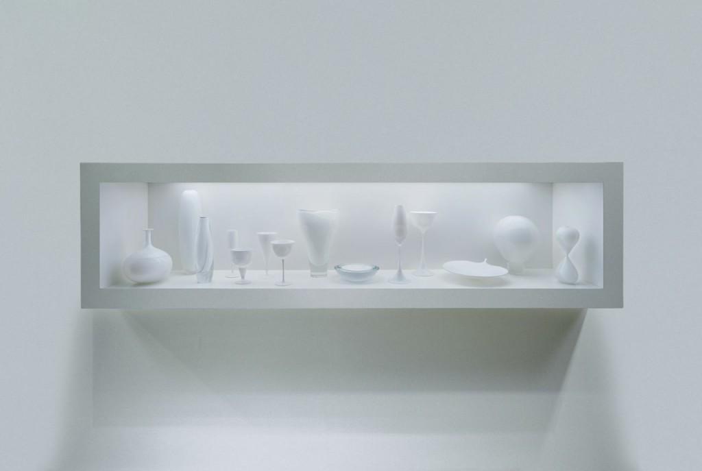 Untitled (White), Josiah McElheny, Seattle, WA, 2000. 15th Rakow Commission. 2000.4.9.