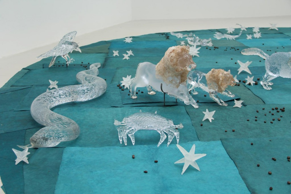Constellation, Kiki Smith, Pino Signoretto, Ross Linda, Ross Arts Studio, New York City, NY, and Murano, Venice, Italy, 1996. Gift in part of the artist and Pace Gallery, New York. 2013.4.38.